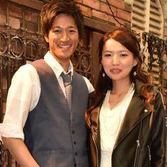 SHUHEIさん&TOMOMIさん