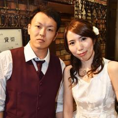 KAZUSHIさん&ERIさん